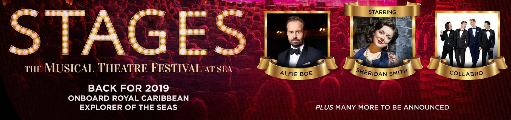 Cruise Select :: Stages the musical theatre festival at sea 2019